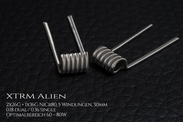 XTRM Alien Coils by Aenigma Clouds