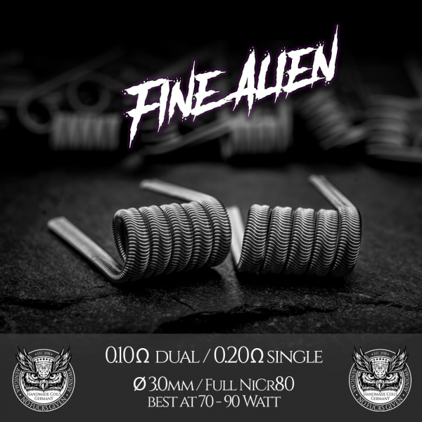 Fine Alien Coils by Aenigma Clouds