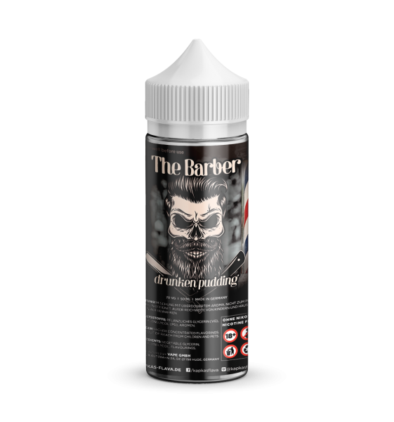 Drunken Pudding - The Barber - Kapka´s Flava - Liquid 50ml - 0mg