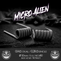 Micro Alien Coils by Aenigma Clouds