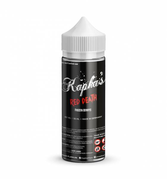 Red Death - Kapka´s Flava - Liquid 50ml - 0mg