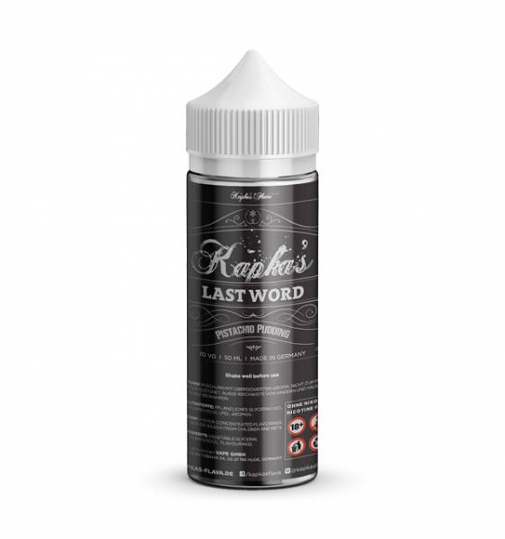 Last Word - Kapka´s Flava - Liquid 50ml - 0mg