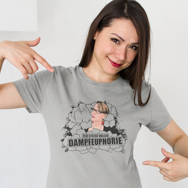 Dampfeuphorie Design-Shirt für Damen by Steamer Clothes