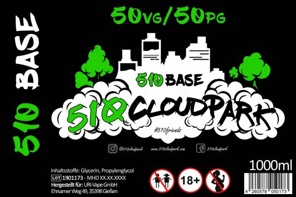 510Base - 510Cloudpark - 1000 ml