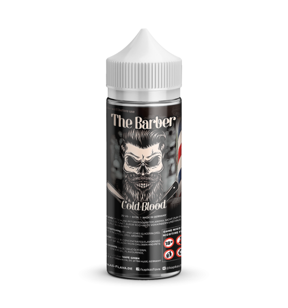 Cold Blood - The Barber - Kapka´s Flava - Liquid 50ml - 0mg